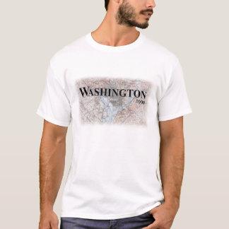 T-shirt Chemise vintage de carte de Washington