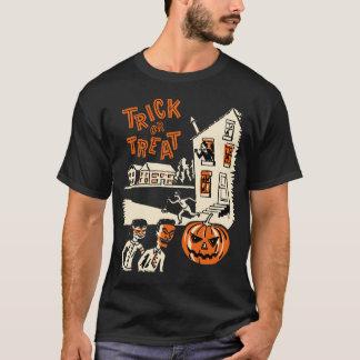 T-shirt Chemise vintage de Halloween des années 1960 de