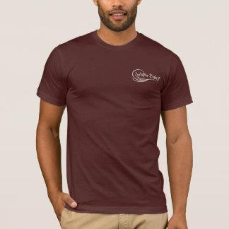 T-shirt Chemise vintage de panneau de surf de bébé de