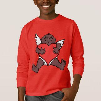 T-shirt Chemises africaines de cupidon de chemises de