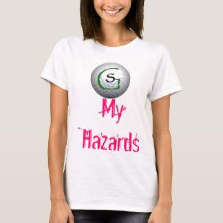 T-shirt Chemises de golf de simplicité