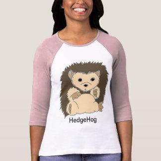 T-shirt Chemises de hérisson avec votre propre texte