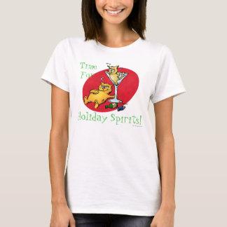 T-shirt Chemises de spiritueux de vacances de chatons de