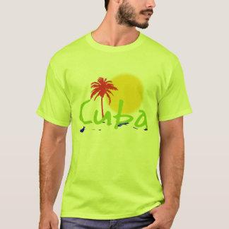 T-shirt chemises de tropiques du Cuba