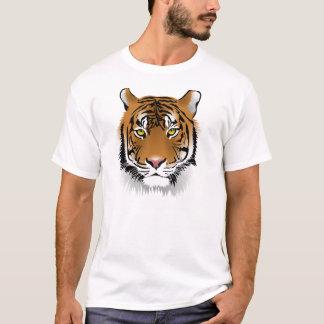 T-shirt Chemises de visage de tigre