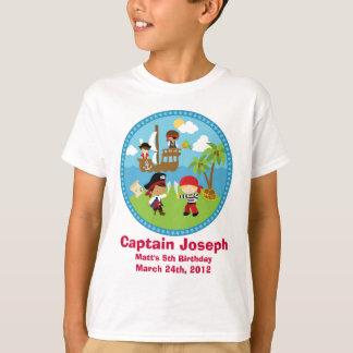 T-shirt Chemises personnalisées de fête d'anniversaire de