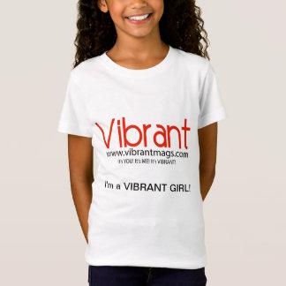 T-Shirt Chemises vibrantes de petite fille
