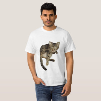 T-shirt Chemisette Amusante Chat Charmant