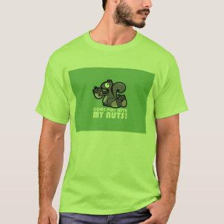 T-shirt Chemisette Avec Écureuil