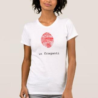 T-shirt Chemisette femme trace numérique