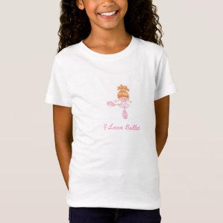 T-Shirt Chemisette I Ballet love