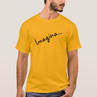T-shirt Chemisette longue douille orange Imagine….