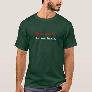 T-shirt Cher Père Noël, j'ai été encadré…