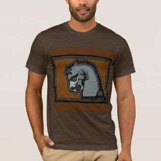 T-shirt Cheval d'Achaemenid par AncientAgesPrints