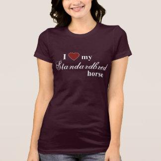 T-shirt Cheval de Standardbred