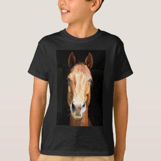 T-shirt Cheval foncé