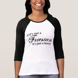 T-shirt Cheval frison