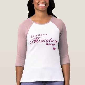 T-shirt Cheval miniature