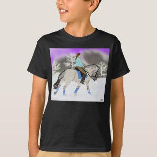 T-shirt Cheval norvégien de dressage de fjord