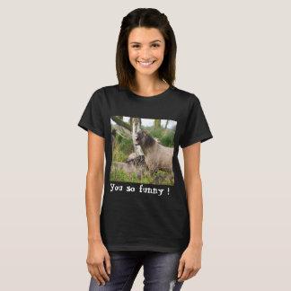 T-shirt Cheval riant