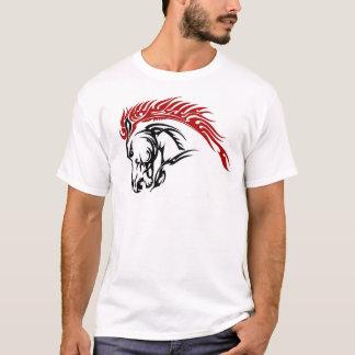 T-shirt Cheval tribal