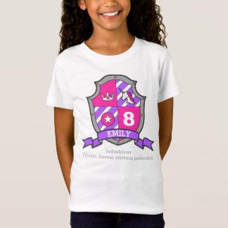 T-Shirt Chevalier de princesse d'anniversaire de