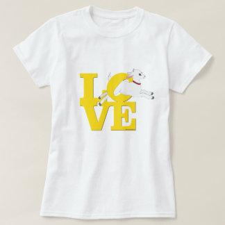 T-shirt Chèvre JAUNE L O V E - chèvre blanche de l'AMANT |