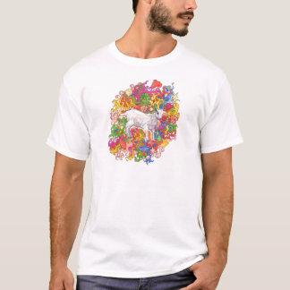 T-shirt Chèvre psychédélique
