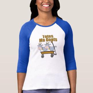 T-shirt Chèvres de mA d'emballages