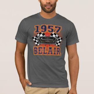 T-shirt Chevy 1957 des hommes Belair