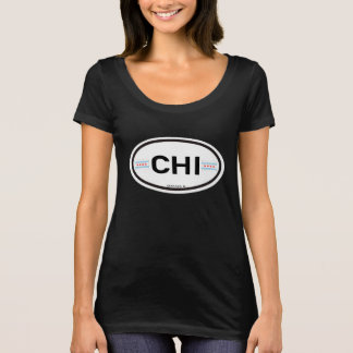 T-shirt CHI de Chicago Euro-Ovale