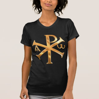 T-shirt Chi-Rho d'or