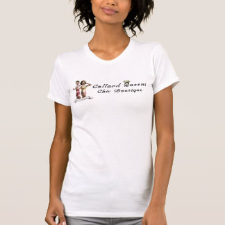 T-shirt chic de boutique de la Reine de collard