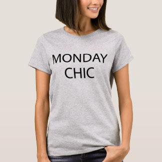 T-shirt chic Tumblr de lundi