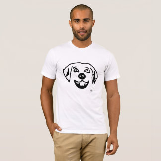 T-shirt Chien - Adolf Lorenzo