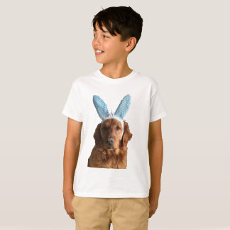 T-shirt Chien d'arrêt d'or de Pâques