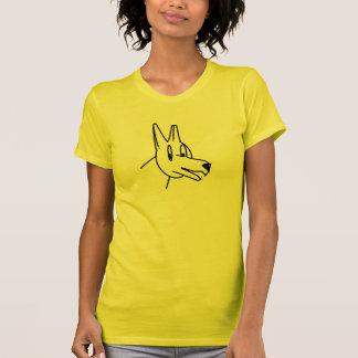 T-shirt Chien de bande dessinée