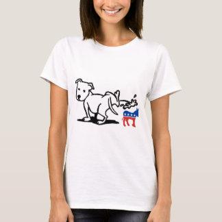 T-shirt Chien de Démocrate