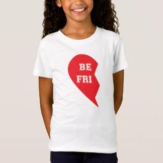 T-Shirt Chien de meilleur ami et enfant étant assorti