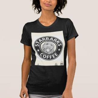 T-shirt chien Starbucks
