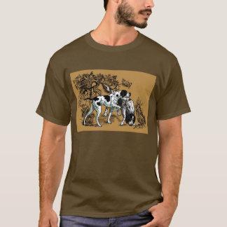 T-shirt chiens de chasse