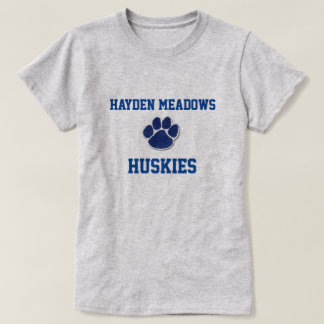 T-shirt Chiens de traîneau de prés de Hayden