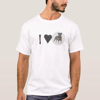 T-shirt Chiens d'ILove