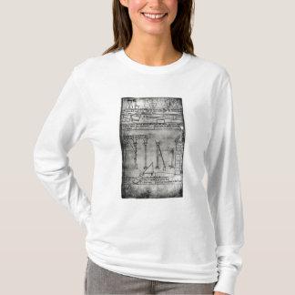T-shirt Chiffres géométriques pour la construction