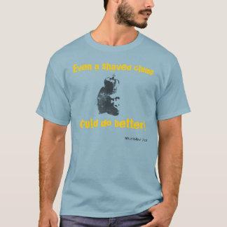 T-shirt Chimpanzé rasé