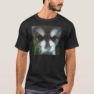 T-shirt Chiot de Malamute d'Alaska