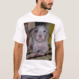 T-shirt Chiot de poseur d'Engish