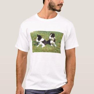 T-shirt Chiots de colley d'Eli et d'Ellie~Border