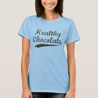 T-shirt Chocolat sain