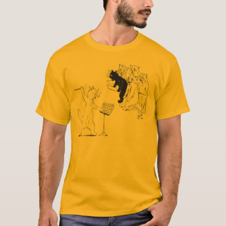 T-shirt Choeur de conduite Louis vintage Wain de chat
